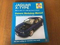Haynes Jaguar x-type owners workshop manual