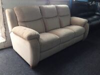 DFS New / Ex Display - Sadera 3 Seater Sofa High back