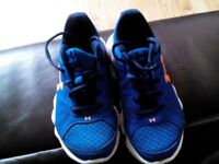 Under armour trainers size 12
