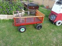 mobility scooter trailer,4 wheeled,good tyres,ideal disabled fisherman.