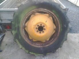 Ferguson tractor rear wheel