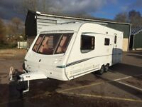 Abbey Spectrum 2004 2/4/5 Berth. Twin Axle. End Bathroom. Perfect Condition + Extras