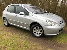 PEUGEOT 307 - 1 YEARS MOT - CLEAN & RELIABLE - SERVICE HISTORY