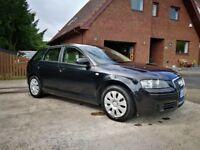 Audi A3 2008 Sportback 1.9tdi long MOT Full leather 50+mpg Diesel £30 Tax Cheap Car