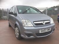 2007 Vauxhall Meriva 1.4 full year mot ideal family runabout