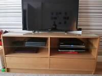Tv cabinet with draws storage