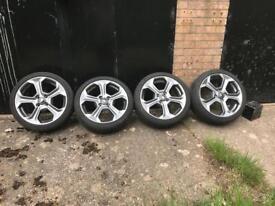 Fiesta st180 alloys