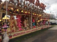 IOW festival staff wanted to work on funfair games stalls