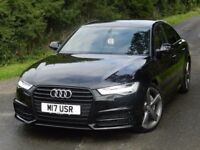ONLY 11K MILES (2016) AUDI A6 S LINE BLACK EDITION 3.0 TDI [START STOP] XENON - FSH - 19 INCH ALLOYS