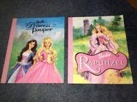 2 Barbie storybooks