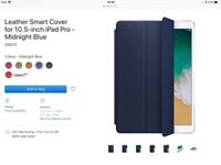 iPad Pro leather Smart Cover, Apple, NEW