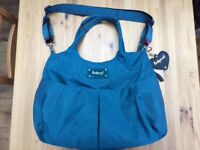 Babymel Teal Zahra Baby Change Bag