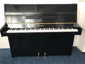 Kemble Upright Piano Compact Black Finish