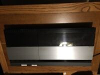 B&O Bang & Olufsen BEOCENTER 4000 TWIN TAPES K7, RECEIVER AMPLIFIER includes 2 x 30 watt speakers