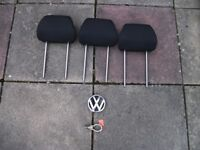 VW mk 4 badge and new unused towing eye