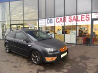 2007 07 FORD FOCUS 2.5 ST-3 3D 225 BHP **** GUARANTEED FINANCE **** PART EX WELCOME***