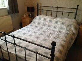 Double bed frame - ikea