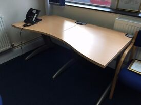 Large ex office desk perfect for home office