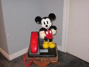 Mickey Mouse Phone By Bell Canada Logo