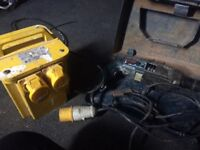 Electric genorater with Bosch power drill