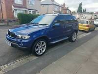 BMW X5 SPORT - LEMANS BLUE EDITION 3.0 DIESEL - 215BHP
