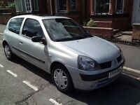 Renault Clio - Silver - 1.2L Petrol - 3 door - Good Condition & Ideal First Car