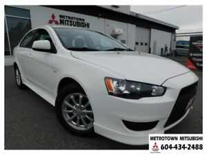 2011 Mitsubishi Lancer SE; Local & no accidents! LOW KMS!