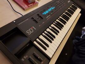 Ensoniq SD-1 Wavetable Synthesizer