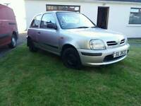 NISSAN MICRA WITH MOT