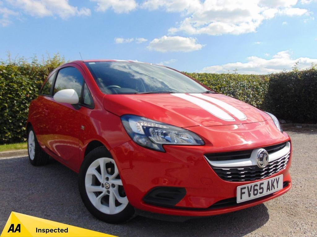 VAUXHALL CORSA 1.2 STING 3d * FULL SERVICE HISTORY * (red) 2015