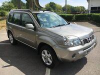 2006 Nissan X-Trail 2.2 Diesel, Dci, 4WD, 4x4, Only 54700 Miles, Sat Nav, Reversing Camera, NEW MOT