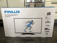 "Finlux 32"" HD LED Freeview TV- Boxed, unopened"