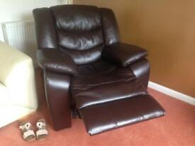 Single seater recliner chair