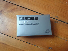 BOSS FB-2 Feedback and boost pedal