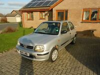 NISSAN MICRA CELEBRATION 998CC W REG 2000