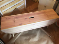 Coffee table with storage,