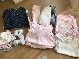 baby girl clothes bundle - 0-3 months