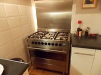 Stainless Steel Diplomat Dual Fuel Range Cooker Very Good condition, in everyday use - a bargain!