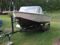 16 foot boat and trailer