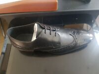 3X Office Gents Shoes - Black Size 10