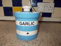 garlic storage jar