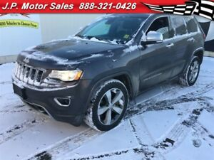 2014 Jeep Grand Cherokee Overland, Auto, Navigation, Leather,