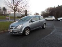 VAUXHALL CORSA 1.4 SXI HATCHBACK SILVER/BLUE 2008 ONLY 80K MILES BARGAIN £1550 *LOOK* PX/DELIVERY
