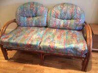 2 x conservatory sofas