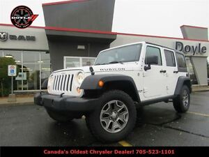 2015 Jeep WRANGLER UNLIMITED RUBICON 4WD 6-SPEED W/GPS NAVIGATIO