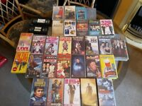 30 films VHS tapes