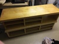 Tv bench Ikea unit