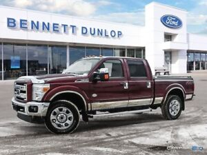 2015 Ford F-350 F350 KING RANCH