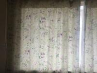Dunelm Floral Curtains