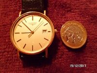 **BEAUTIFUL LONGINES MEN'S WATCH,(REQUIRES SIMPLE REPAIR) **